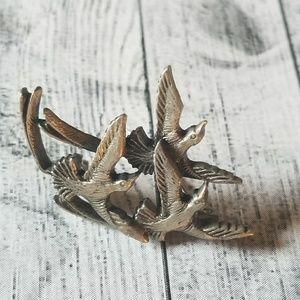 Beautiful VTG Bird Brooch
